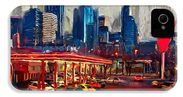 Atlanta Skyline 231 1 IPhone 4s Case by Mawra Tahreem