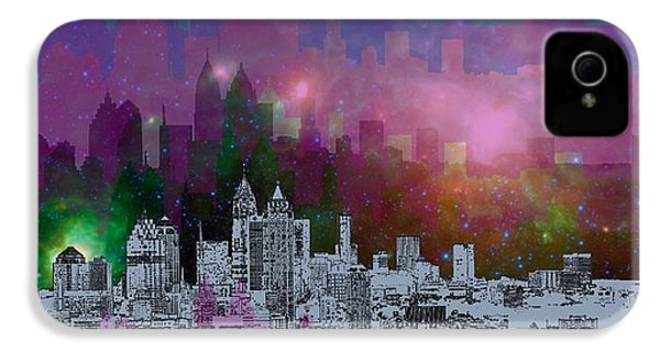 Atlanta Skyline 7 IPhone 4s Case by Alberto RuiZ