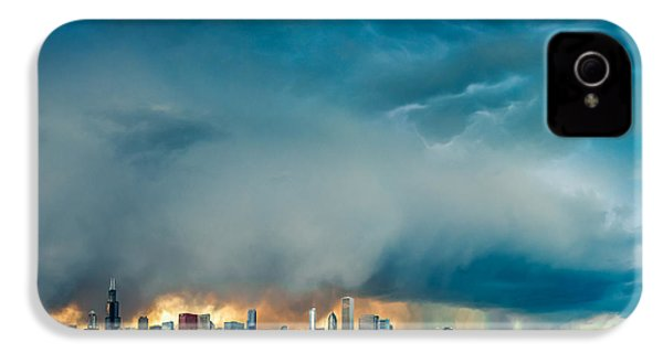 Attention Seeking Clouds IPhone 4s Case by Cory Dewald
