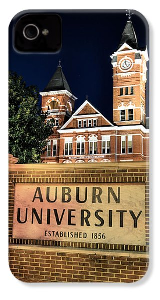 Auburn University IPhone 4s Case by JC Findley