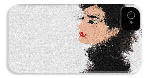 Audrey Hepburn IPhone 4s Case by Miranda Sether