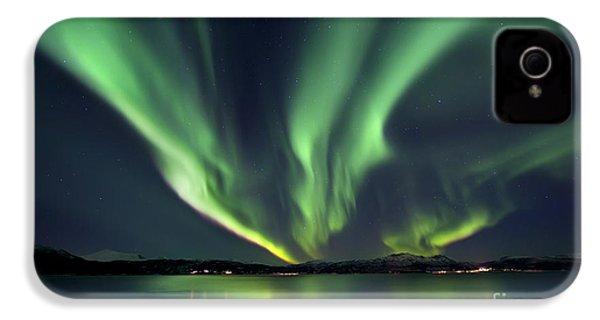 Aurora Borealis Over Tjeldsundet IPhone 4s Case by Arild Heitmann