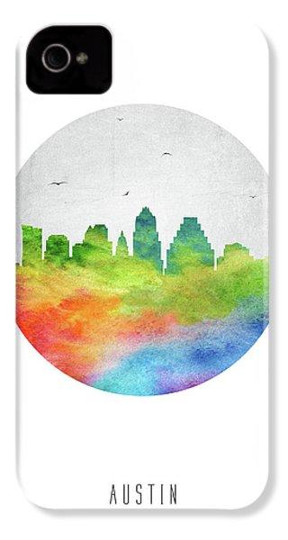 Austin Skyline Ustxau20 IPhone 4s Case by Aged Pixel