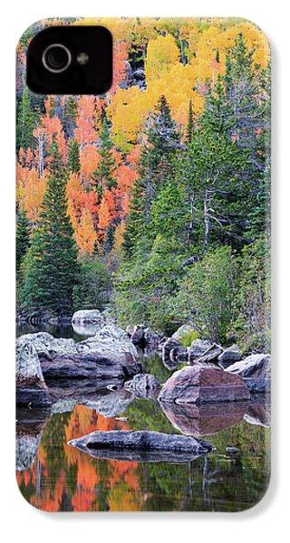 Autumn At Bear Lake IPhone 4s Case by David Chandler
