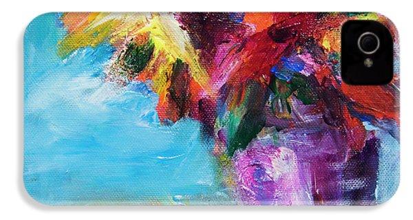 Colorful Flowers  IPhone 4s Case by Yulia Kazansky