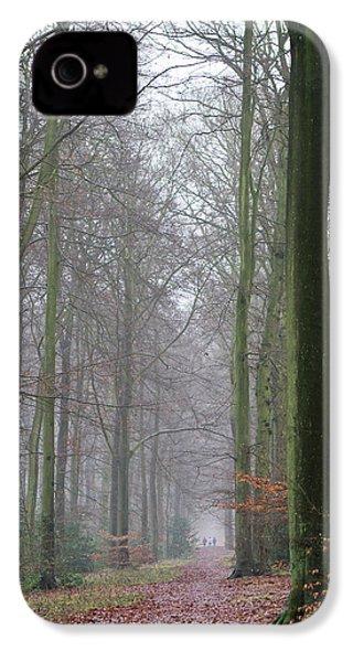 Autumn Woodland Avenue IPhone 4s Case by Gary Eason