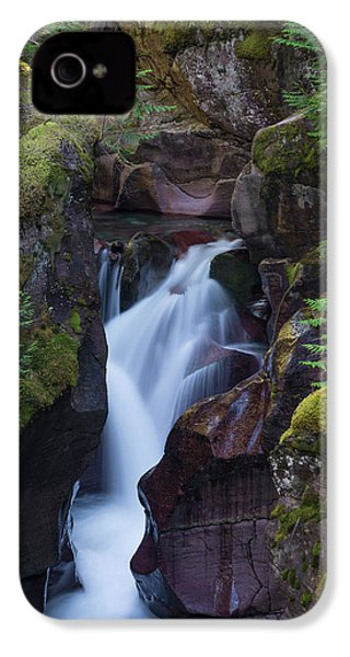 Avalanche Gorge 3 IPhone 4s Case by Gary Lengyel
