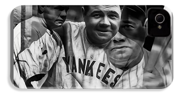 Babe Ruth Collection IPhone 4s Case