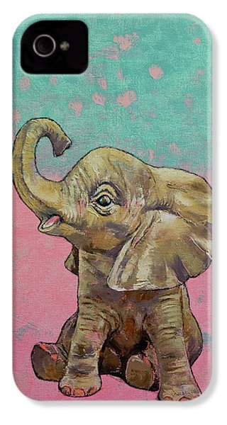 Baby Elephant IPhone 4s Case