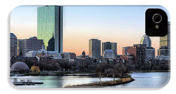 Back Bay Sunrise IPhone 4s Case by JC Findley