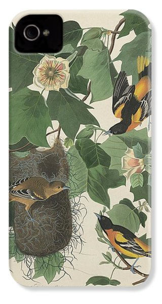 Baltimore Oriole IPhone 4s Case by Rob Dreyer
