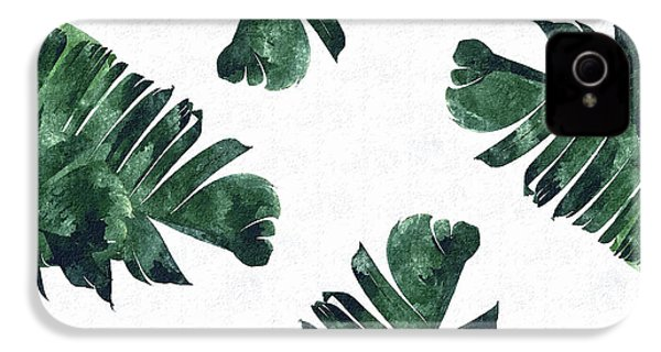 Banan Leaf Watercolor IPhone 4s Case by Uma Gokhale