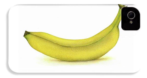 Banana Watercolor IPhone 4s Case