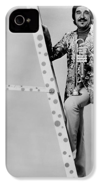 Band Leader Doc Severinson 1974 IPhone 4s Case by Mountain Dreams