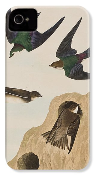 Bank Swallows IPhone 4s Case