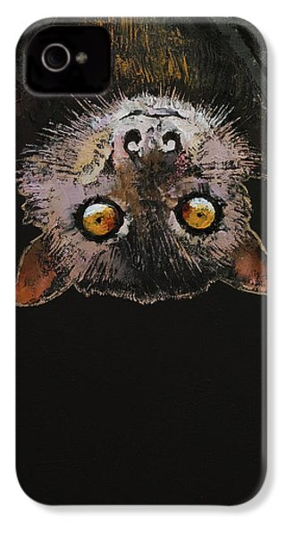 Bat IPhone 4s Case by Michael Creese