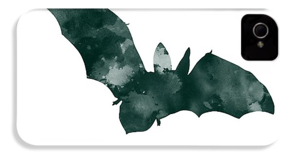 Bat Minimalist Watercolor Painting For Sale IPhone 4s Case