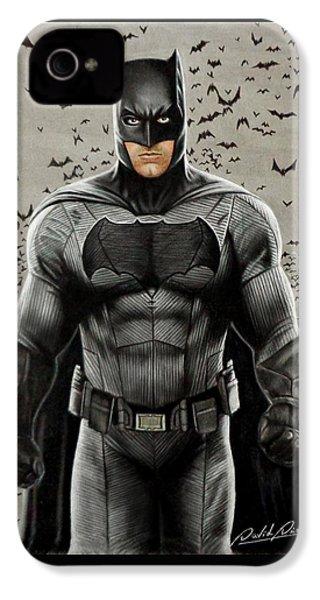 Batman Ben Affleck IPhone 4s Case by David Dias