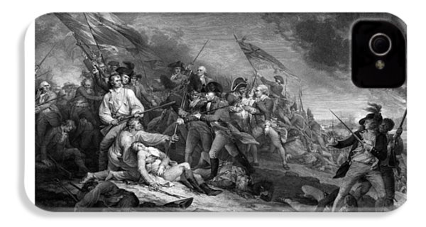 Battle Of Bunker Hill IPhone 4s Case by War Is Hell Store