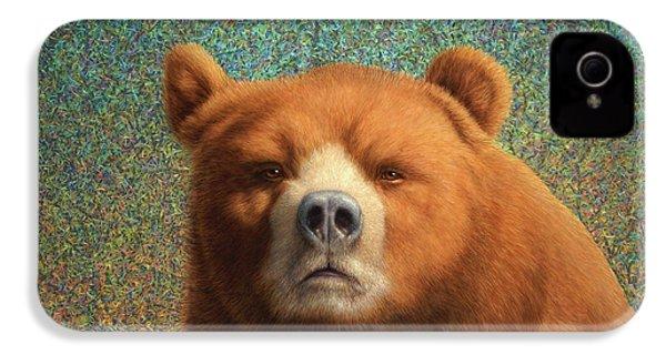 Bearish IPhone 4s Case by James W Johnson