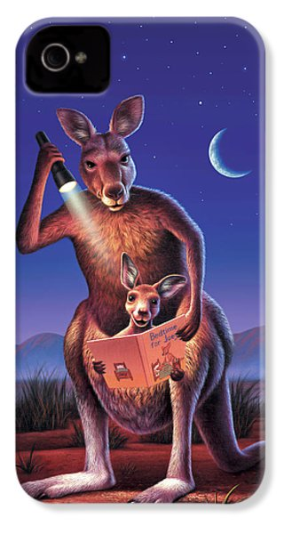 Bedtime For Joey IPhone 4s Case by Jerry LoFaro