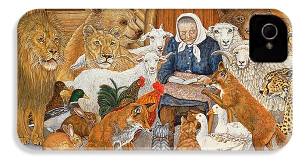 Bedtime Story On The Ark IPhone 4s Case by Ditz