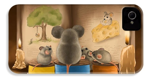 Bedtime Story IPhone 4s Case by Veronica Minozzi