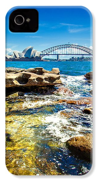 Behind The Rocks IPhone 4s Case by Az Jackson