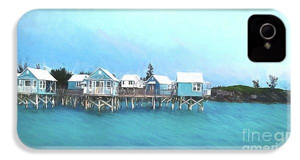 Bermuda Coastal Cabins IPhone 4s Case