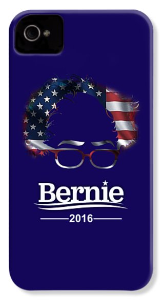 Bernie Sanders 2016 IPhone 4s Case by Marvin Blaine