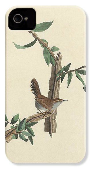 Bewick's Long-tailed Wren IPhone 4s Case by Rob Dreyer