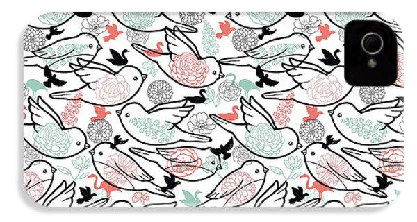 Bird Solid IPhone 4s Case by Elizabeth Taylor