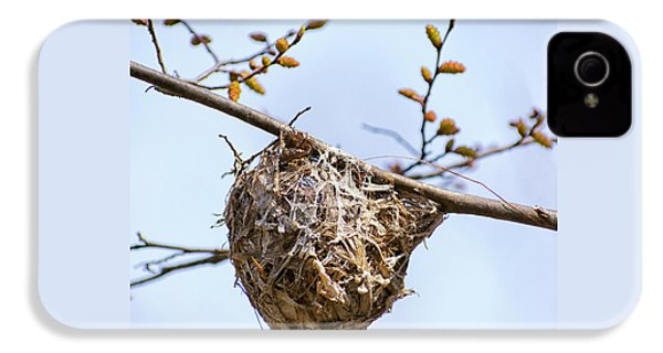 Birds Nest IPhone 4s Case by Christina Rollo