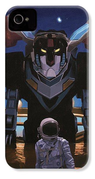 Black Lion IPhone 4s Case