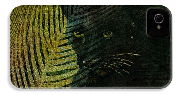 Black Panther IPhone 4s Case by Arline Wagner