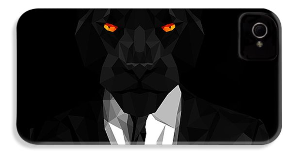 Blacl Panther IPhone 4s Case by Gallini Design