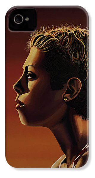 Blanka Vlasic Painting IPhone 4s Case by Paul Meijering
