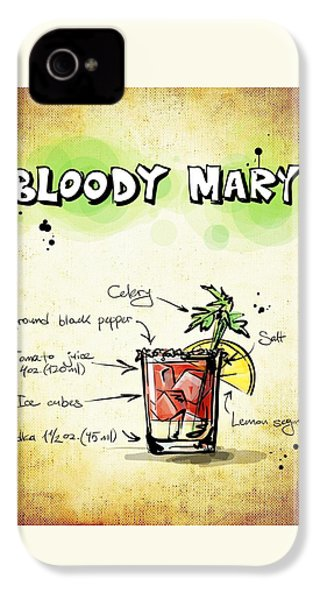 Bloody Mary IPhone 4s Case