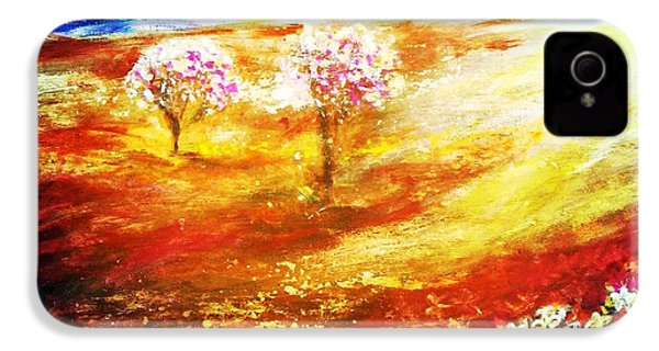 Blossom Dawn IPhone 4s Case by Winsome Gunning