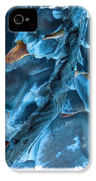 Blue Pattern 1 IPhone 4s Case by Jonathan Nguyen