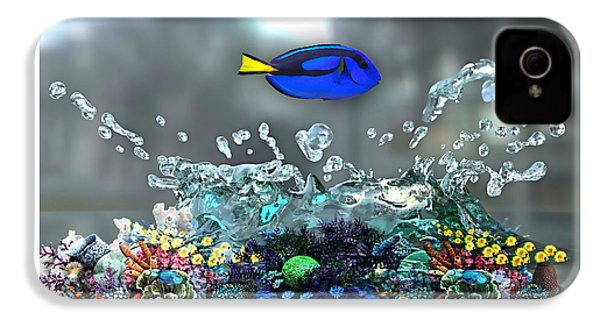 Blue Tang Collection IPhone 4s Case by Marvin Blaine