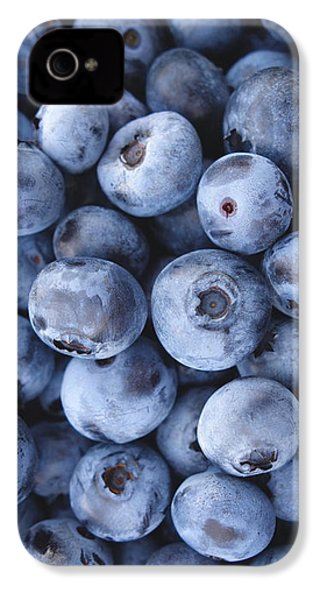 Blueberries Foodie Phone Case IPhone 4s Case