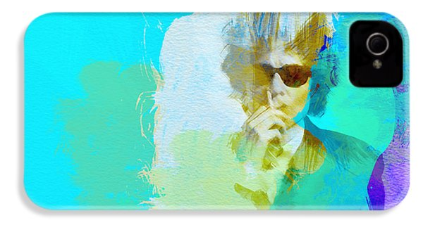 Bob Dylan IPhone 4s Case by Naxart Studio