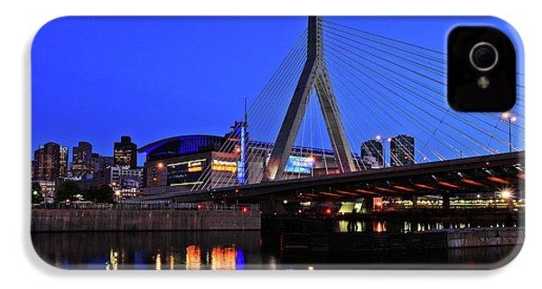 Boston Garden And Zakim Bridge IPhone 4s Case by Rick Berk