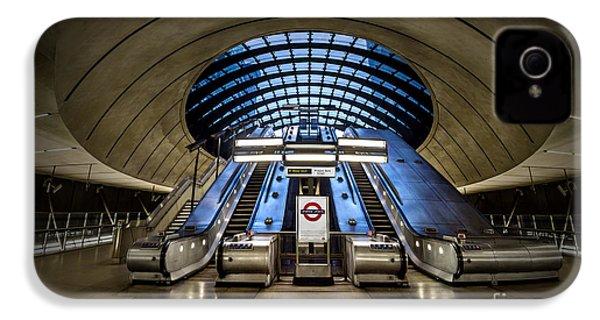 Bound For The Underground IPhone 4s Case by Evelina Kremsdorf