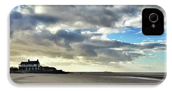 Brancaster Beach This Afternoon 9 Feb IPhone 4s Case by John Edwards