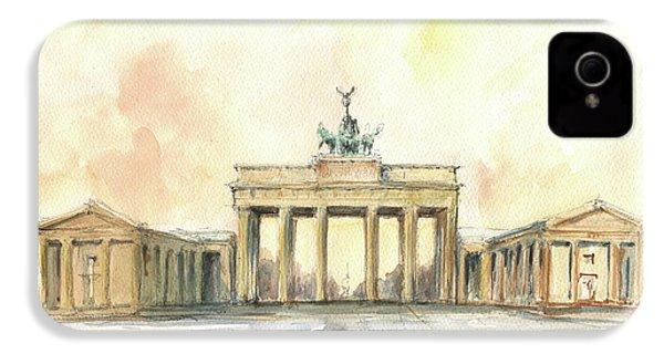 Brandenburger Tor, Berlin IPhone 4s Case by Juan Bosco