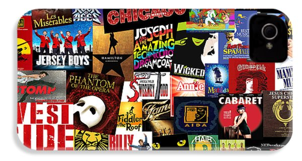 Broadway 3 IPhone 4s Case