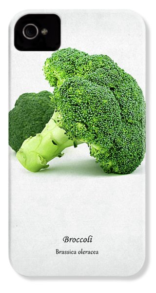 Broccoli IPhone 4s Case by Mark Rogan