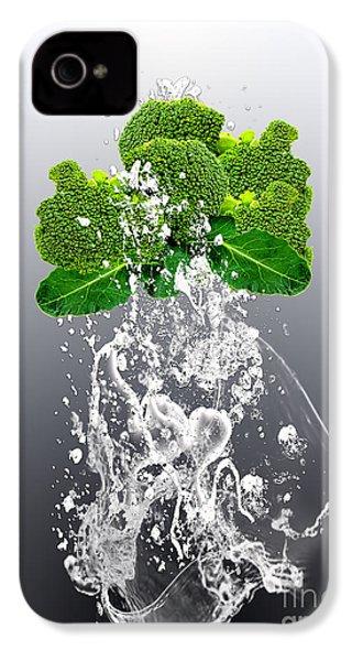 Broccoli Splash IPhone 4s Case by Marvin Blaine